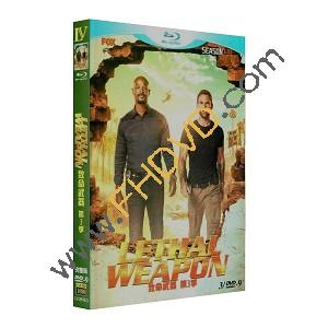 Lethal Weapon 致命武器 第3季 3DVD