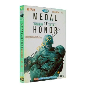 Medal of Honor 榮譽勳章 第1季 3DVD