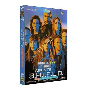 Agents of SHIELD 神盾局特工 第6季 3DVD